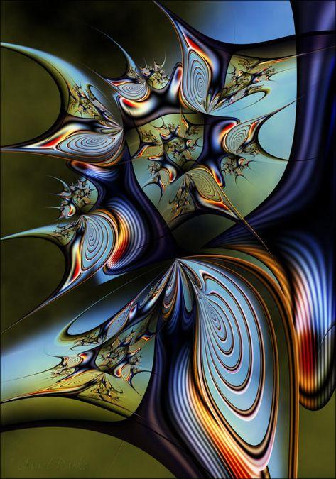 Co-Pilot Concerns by infinite-art fractal art media art