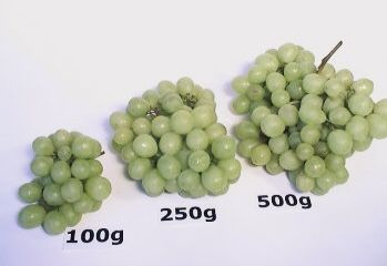 Grape Portions Green Grapes Nutrition Food Nutrition World