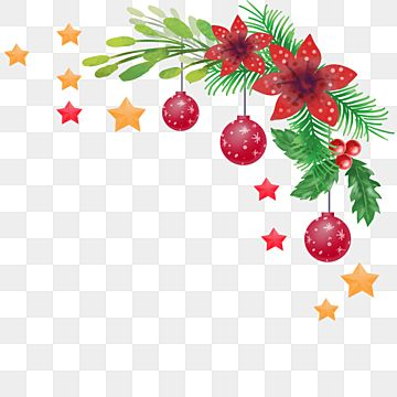 Red Flower And Leaves Ornament Christmas Corner Christmas Merry Christmas Leaf Png Transparent Clipart Image And Psd File For Free Download Floral Poster Leaf Ornament Red Flowers