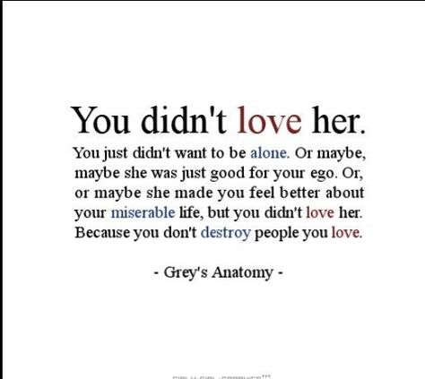 So true, it's a question I ask myself everyday! Why would you want to destroy the one person you claim to love most?