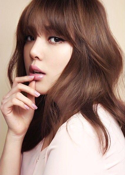 Pony Makeup Hair Color Asian Korean Hair Color Brunette Hair Color