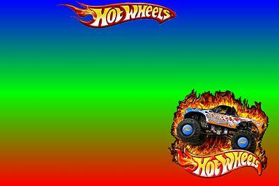 Imprimibles de Hot Wheels proyectos Pinterest Hot wheels