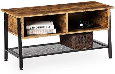 Amazing offer on Kicode TV Stand, TV Console Table  Flat Screens, TV Table  Storage Drawer  Wire Mesh Shelf, Entertainment Units, Media Cabinets  Living Room  Office, Rustic Brown online - Topbuytopoffer ,  #Amazing #brown #cabinets #Console #Drawer #Entertainment #Flat #Kicode #Living #Media #Mesh #offer #Office #online #Room #Rustic #rusticlivingroomfurnituretvconsoles #Screens #Shelf #Stand #storage #table #Topbuytopoffer #Units #Wire