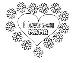 Kleurplaten I Love You.Afbeeldingsresultaat Voor Kleurplaten I Love You Mama Handletteren