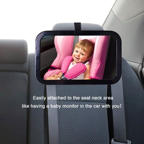 Baby Car Mirror Aodis Premium Back Seat View Infant Toddler In 360 Degree Adjustable Best Convex For