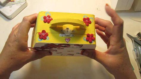 Altered Purse Box - Hello Kitty Theme