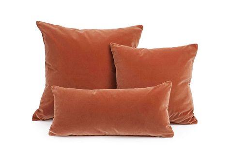 Cuscini Colorati.Colore Ruggine Idee Per Abbinamenti Pareti E Arredi Cuscini