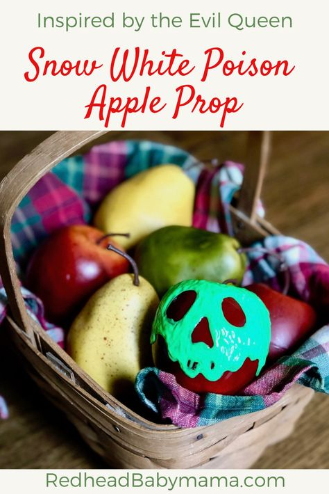 You'll Die Over This Magical Snow White Poison Apple Prop - Redhead Baby Mama | Atlanta Blogger