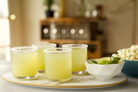 You'll never guess the secret ingredient that cools off these Jalapeño Margaritas! Click for this recipe, and even more creative margaritas you HAVE to try! 😍 Sponsored by Cointreau