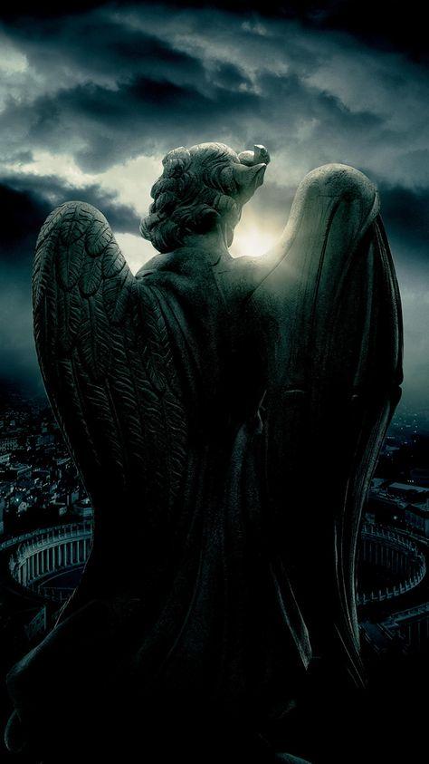 Angels & Demons (2009) Phone Wallpaper   Moviemania