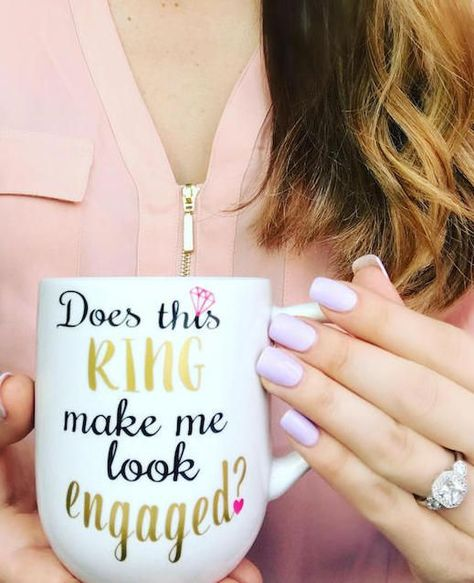 incredibly creative ring photos to announce your engagement on