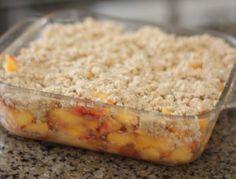 Peach Cobbler ~ Kodiak Cakes