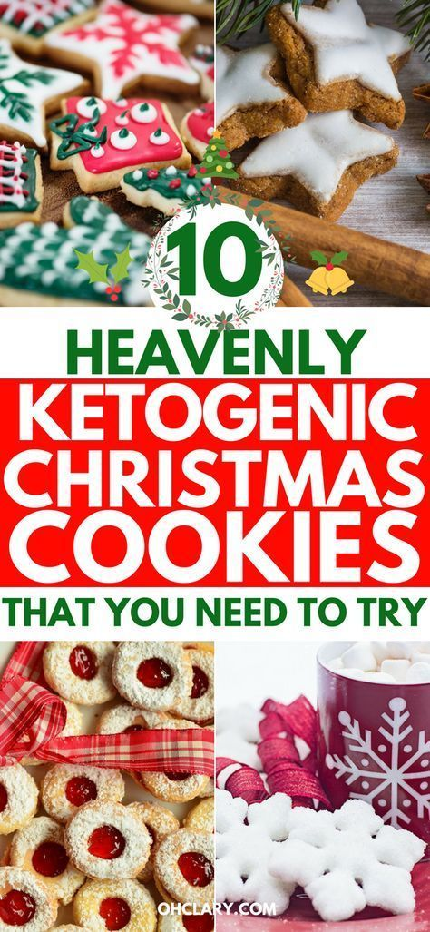Keto Christmas Cookies 10 Heavenly Low Carb Cookies Your Whole