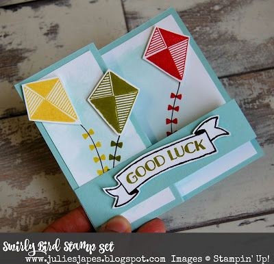 Stampin Up Swirly Bird Stamp Set of 24