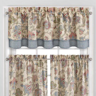 Waverly Arezzo 52 Window Valance Valance Curtains Kitchen