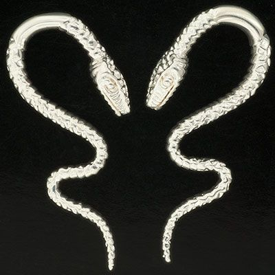 14g Pair of Stainless Steel Cthulhus Little Seven Brand