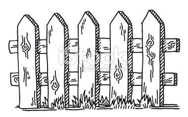 picket fence drawing. Drawing Picket Fence Drawing S