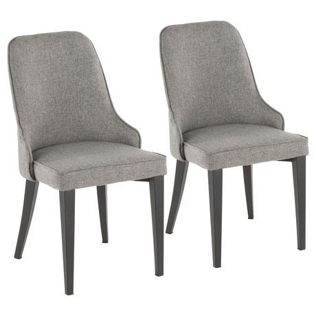 Nueva Contemporary Chair By Lumisource Grey Dining Chairs