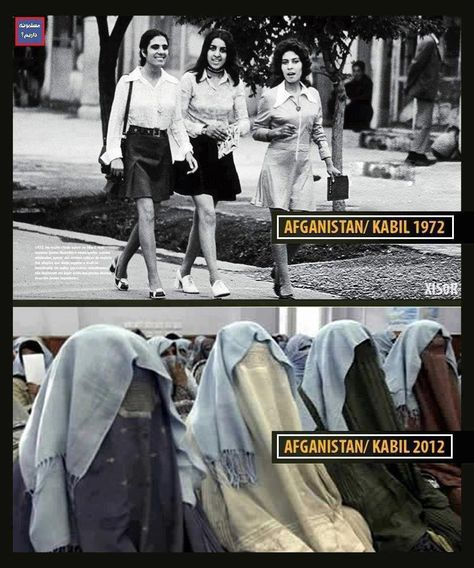 Kabul. 40 years ago in comparison to today.  sad