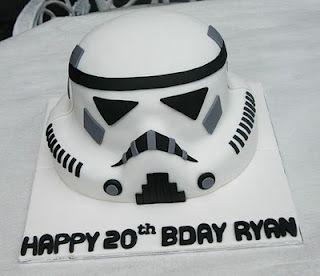 Starwars  #cake #fondant #birthday #white