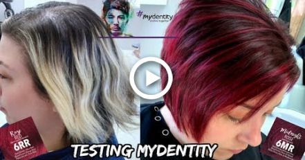 Client Transformation Going Violet Red Trendy Fall Hair Colors Hair