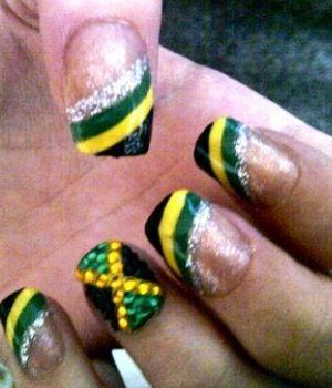 Jamaican Toe Nail Designs Best Nail Designs 2018