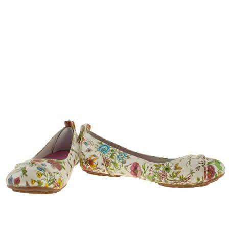 Womens Hush Puppies Multi Janessa Floral Flats Floral Flats Kid Shoes Hush Puppies