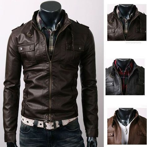 modern biker jacket design Szukaj w Google | Brown leather
