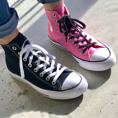 how long are converse laces
