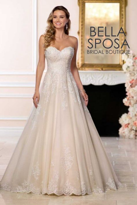 46bf77a034d Pin by Bella Sposa Bridal Boutique on Stella York Plus Size ...