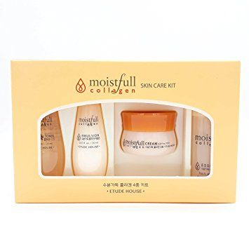 Etude House Moistfull Collagen Skin Care Sample Kit 4pcs Review Moistfull Collagen Collagen Skin Care Etude House Moistfull Collagen