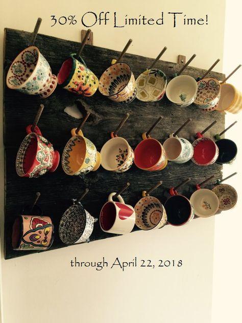 Mug Rack Wedding Gift for Anthropologie Mugs 21 placement