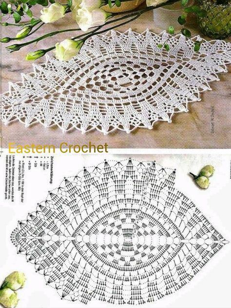 997e85db7848179b8897ab58476180 Diagrama Guardanapo Crochet Carrinhos De Croche Padroes De Croche Doily