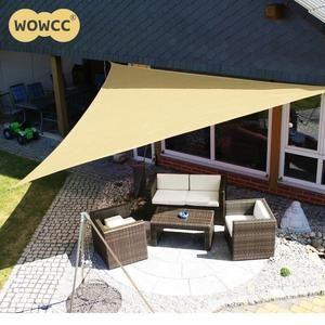 3m Outdoor Sun Shelter Waterproof Awning Triangle Tent Sun Sail Shade Shade Sail Shade Canopy