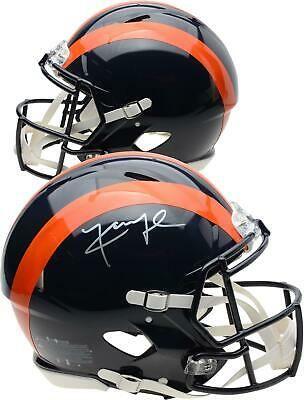 Khalil Mack Chicago Bears Autographed Riddell Throwback Speed Authentic Helmet Helmet Football Helmets Football Helmets For Sale