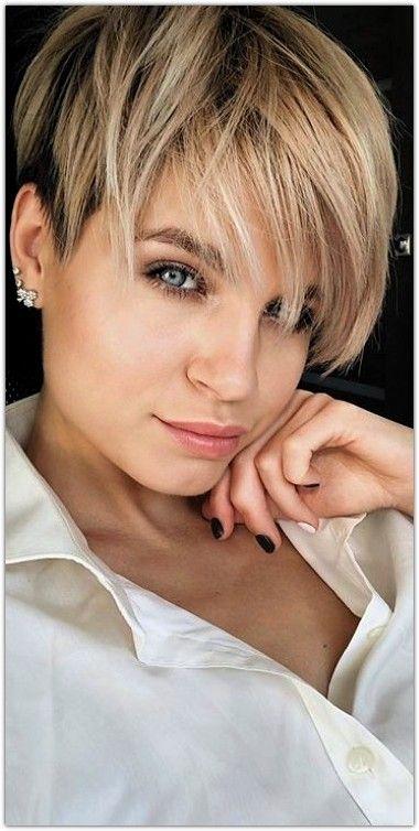 Kurze Haare Frauen 2019 Kurze Frisuren Stil Pinterest