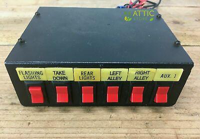 Federal Signal Model Sw 300 012 D Switch Box Light Control Unit Ebay Light Control Control Unit Fire Truck Light