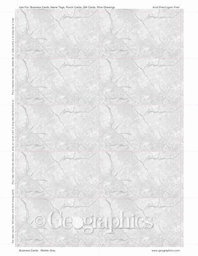 Geographics Business Cards Template Fresh Marble Gray Printable Business Cards Printing Business Cards Printable Business Cards Cards