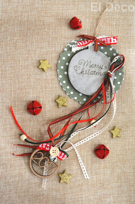 #Christmascharms! #Diy #christmaspresent for friends and family!