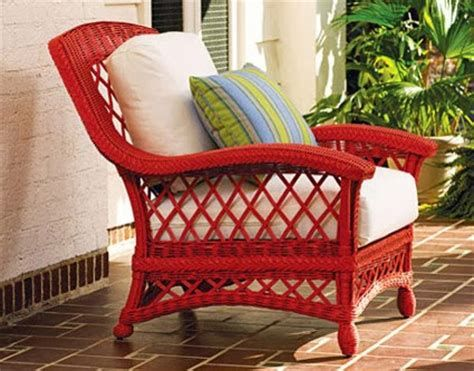 Avoid Scratchy Faded Wicker Furniture
