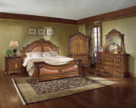 Elegante Traditionelle Schlafzimmer Möbel Amüsant
