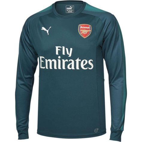 2a3feed47 PUMA Arsenal Home Long Sleeve Goalkeeper Jersey 17 18