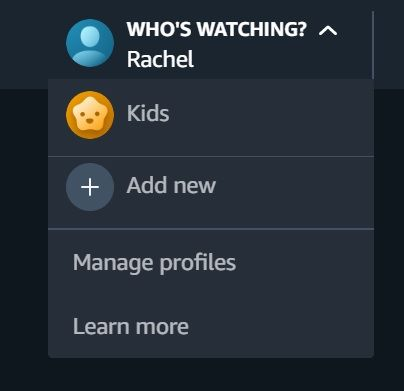 How To Set Up An Amazon Prime Video User Profile Https Dlsserve Com How To Set Up An Amazon Prime Video User Pr Amazon Prime Video Prime Video User Profile