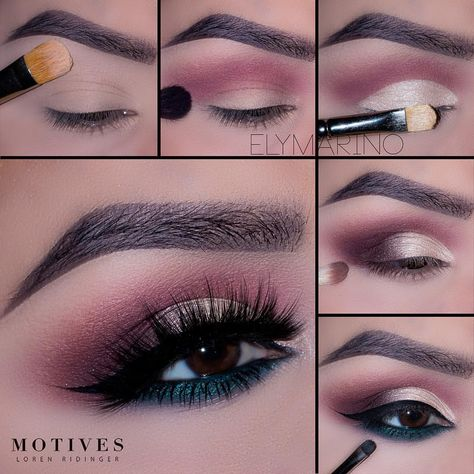 """Motives Cosmetics Official (@motivescosmetics) on Instagram: """"Our girl @elymarino's showing one of her favorite eye looks with the Demure Palette"""
