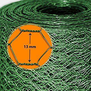 Grillage Pour Jardin Casa Pura Cloture Vert Tailles Au Choix Diametre De Maille 13mm Resistant Aux Intemperies Bricolage 100cmx2 Vert Jardins Cloture