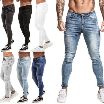 Pantalones Vaqueros Clasicos Para Hombre Pantalones Vaqueros Negros Suaves Para Hombre Kompritas Pantalones Vaqueros Elasticos Pantalones Vaqueros Negros Ropa De Moda Hombre