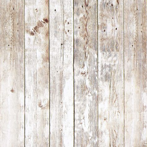 Distressed Wood Wallpaper Plank
