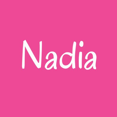 Nadia - Cool Baby Names That Aren't Super Popular - Photos