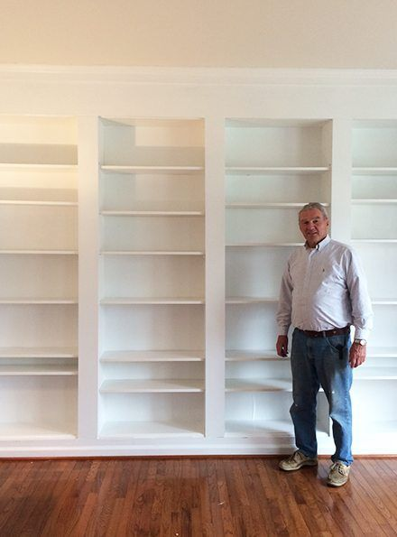 How to build DIY Built In Bookcases from IKEA Billy Bookshelves | Ikea  billy, Tutorials and Walls