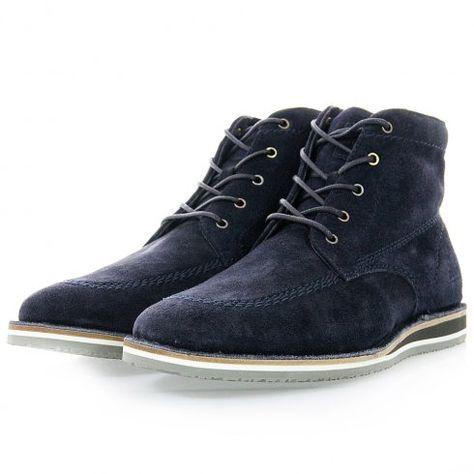 Hugo Boss Orange Footwear | Voletto Dark Blue Boots 50273274